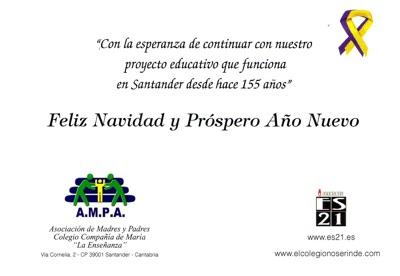 Felicitación Navideña del AMPA